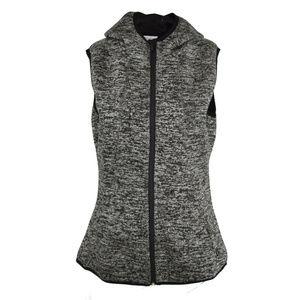 Jockey Women's Hooded Vest Puffer Fleece M NWT